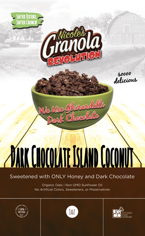 Dark Chocolate Island Coconut